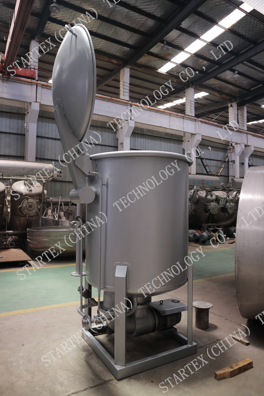 loose fiber dyeing machine散毛染色机3.jpg